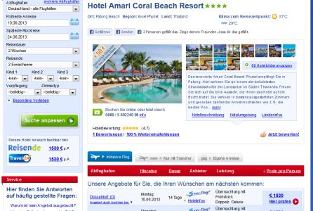 amari coral beach patong