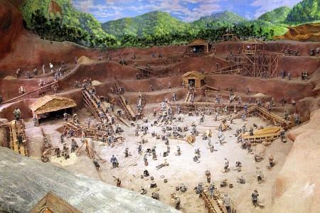 diorama phuket bergbau museumn