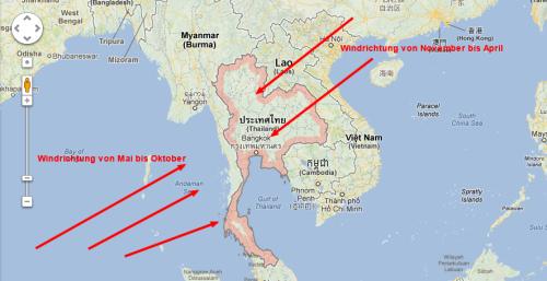 monsun in thailand regenzeit reisezeit