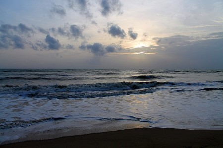 haad baan nam khem sonnenuntergang am strand