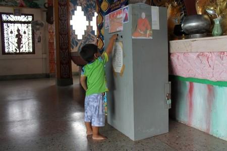 spenden im tempel phuket