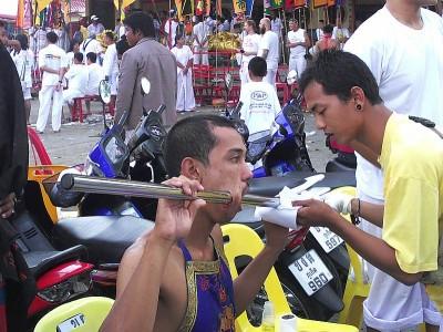 phuket vegetarian festival piercing