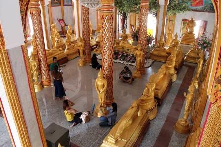tourismus im tempel thailand
