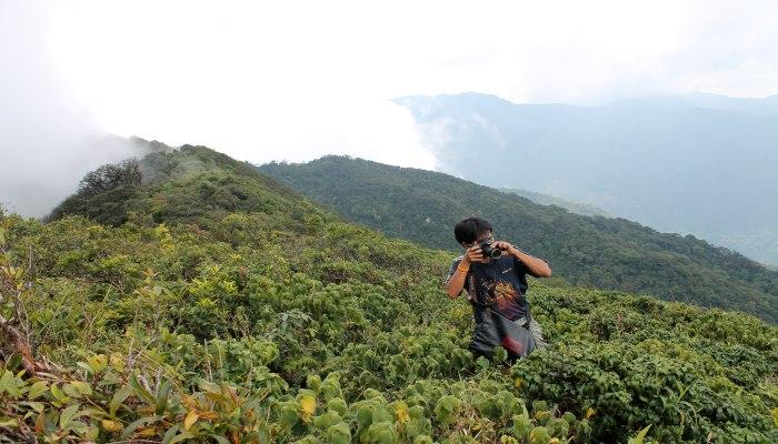 khao luang trekking gipfel aussicht