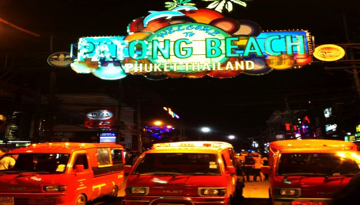 patong beach bangla road