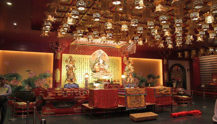 china town tempel in singapur