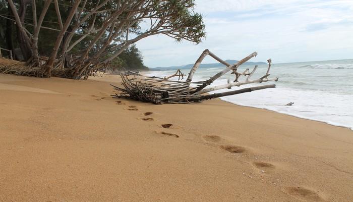 sai gaew beach einsamer strand
