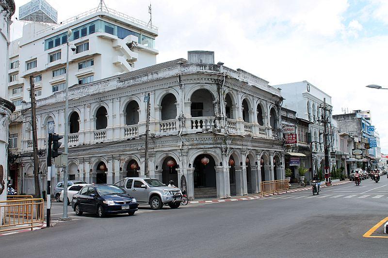 sino portugiesisches gebäude phuket town