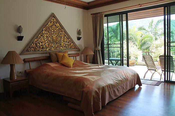 schlafzimmer poolvilla nai harn mieten
