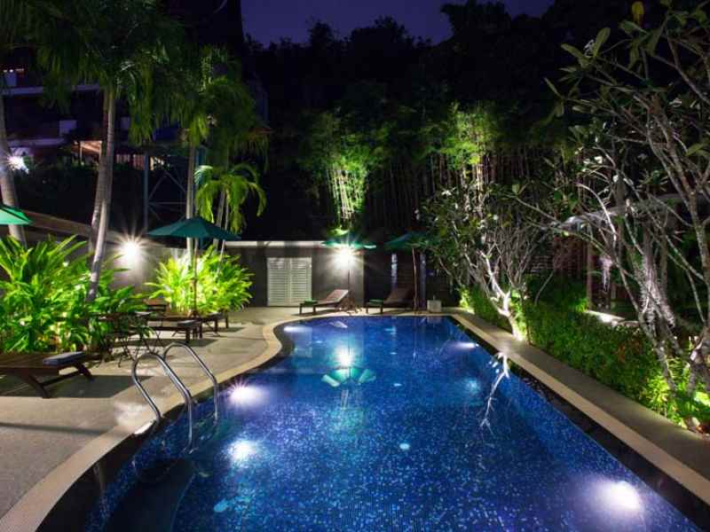 tranquil villa karon beach phuket