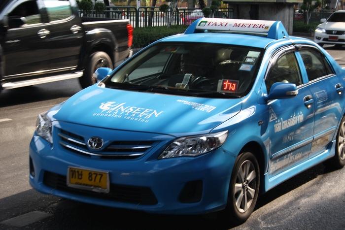 taxi bangkok fortbewegung