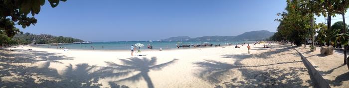 patong beach ohne liegen