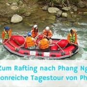 Wildwasser Rafting - Tagestour nach Phang Nga von Phuket
