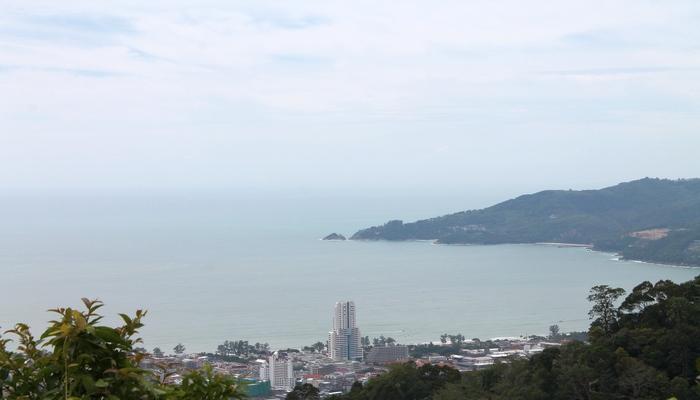 radar hill blick auf patong