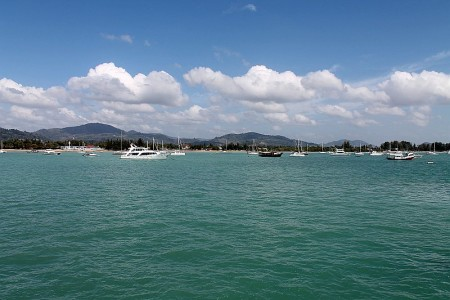 ao chalong die chalong bucht in phuket