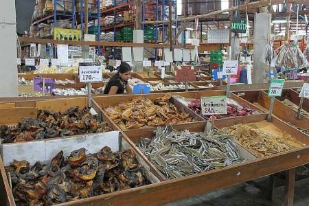 getrockneter Fisch Thailand