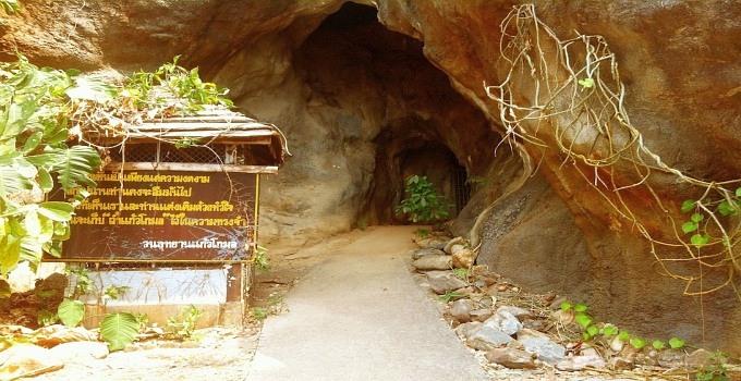 höhle in nordthailand mae hong son loop