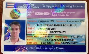 führerschein in thailand