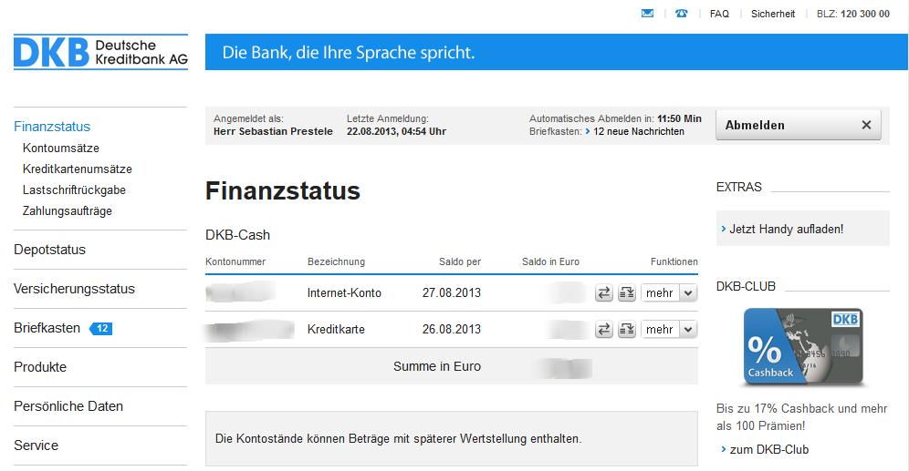 Mit der DKB Kreditkarte im Ausland kostenlos Geld abheben