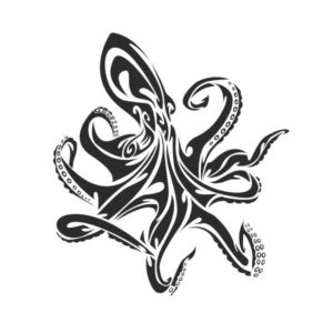 t-shirt design octopus