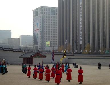 seoul korea palast wachablöse