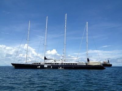 vier mast segelyacht charter phuket