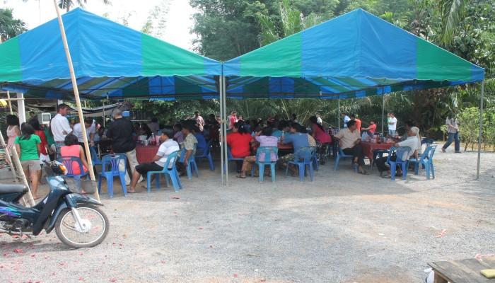 hochzeit in thailand auf dem land