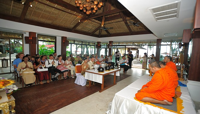 thailändische hochzeits zeremonie