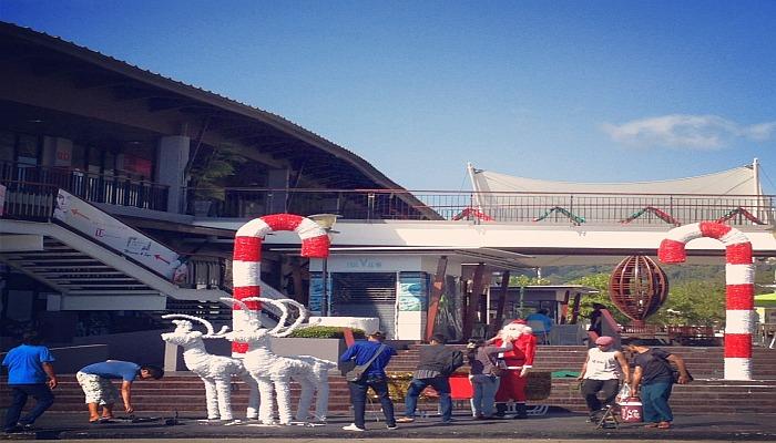 weihnachtsdekoration thailand