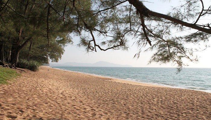 ruhiger strand phuket