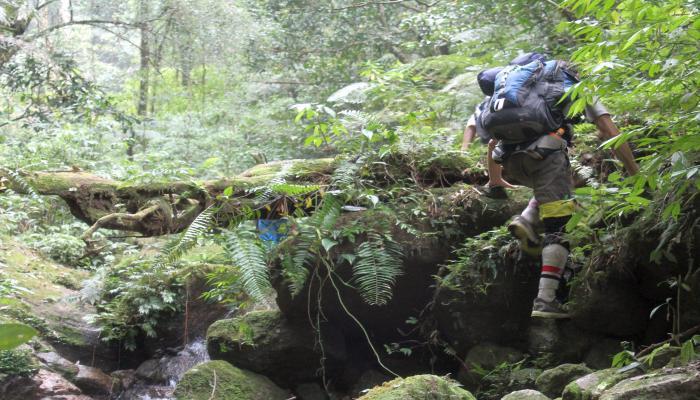trekking bergsteigen in thailand