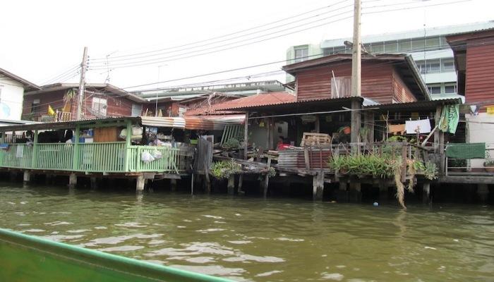 klongfahrt in bangkok