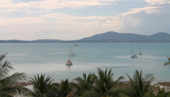 panwa beach hotel blick