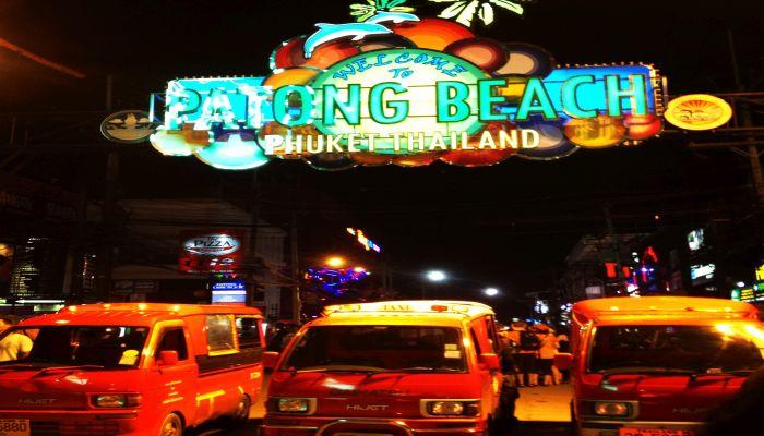 patong beach bangla road