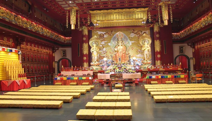 china town tempel singapur