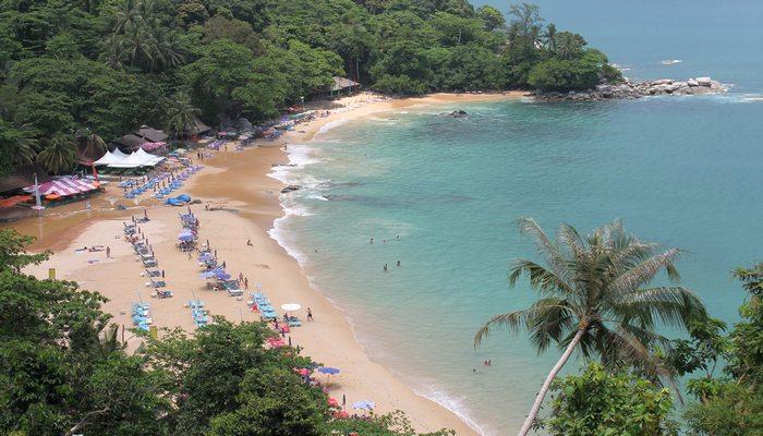 laem singh beach phuket