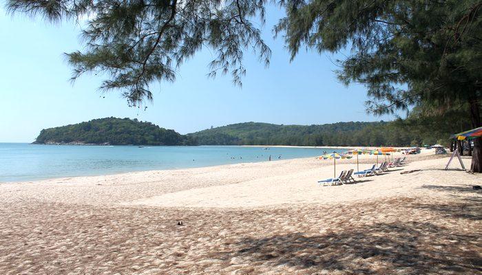 layan beach phuket ruhiger strand