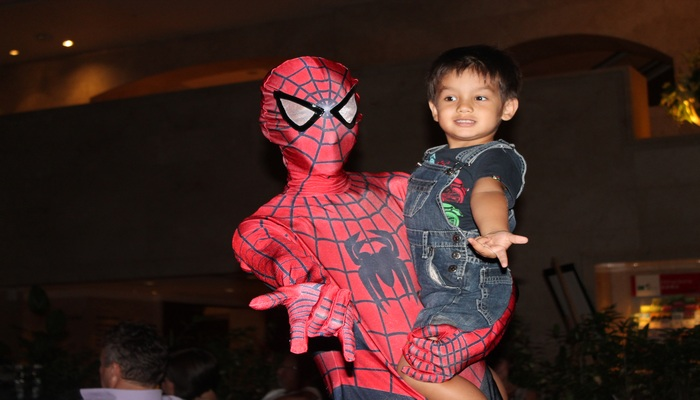 spider man in singapur