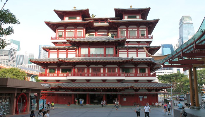 tempel china town singapur