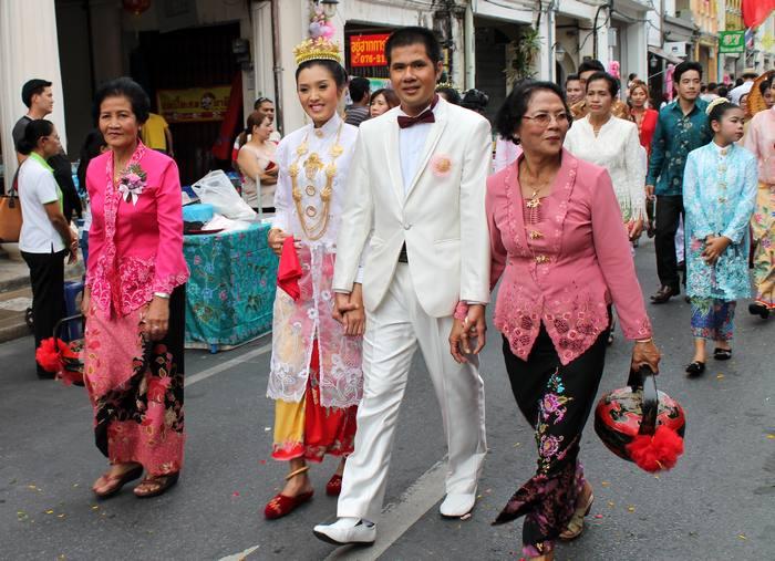 Phuket Baba Wedding Peranakan Kultur Hochzeit