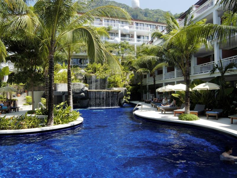 sunset beach resort patong familien hotel phuket