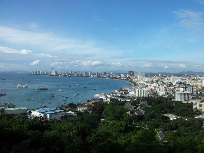 Pattaya City vom Big Buddha_pattaya