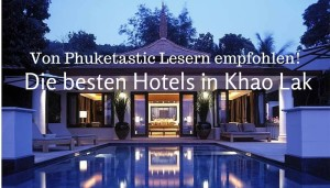 Die besten Hotels khao lak