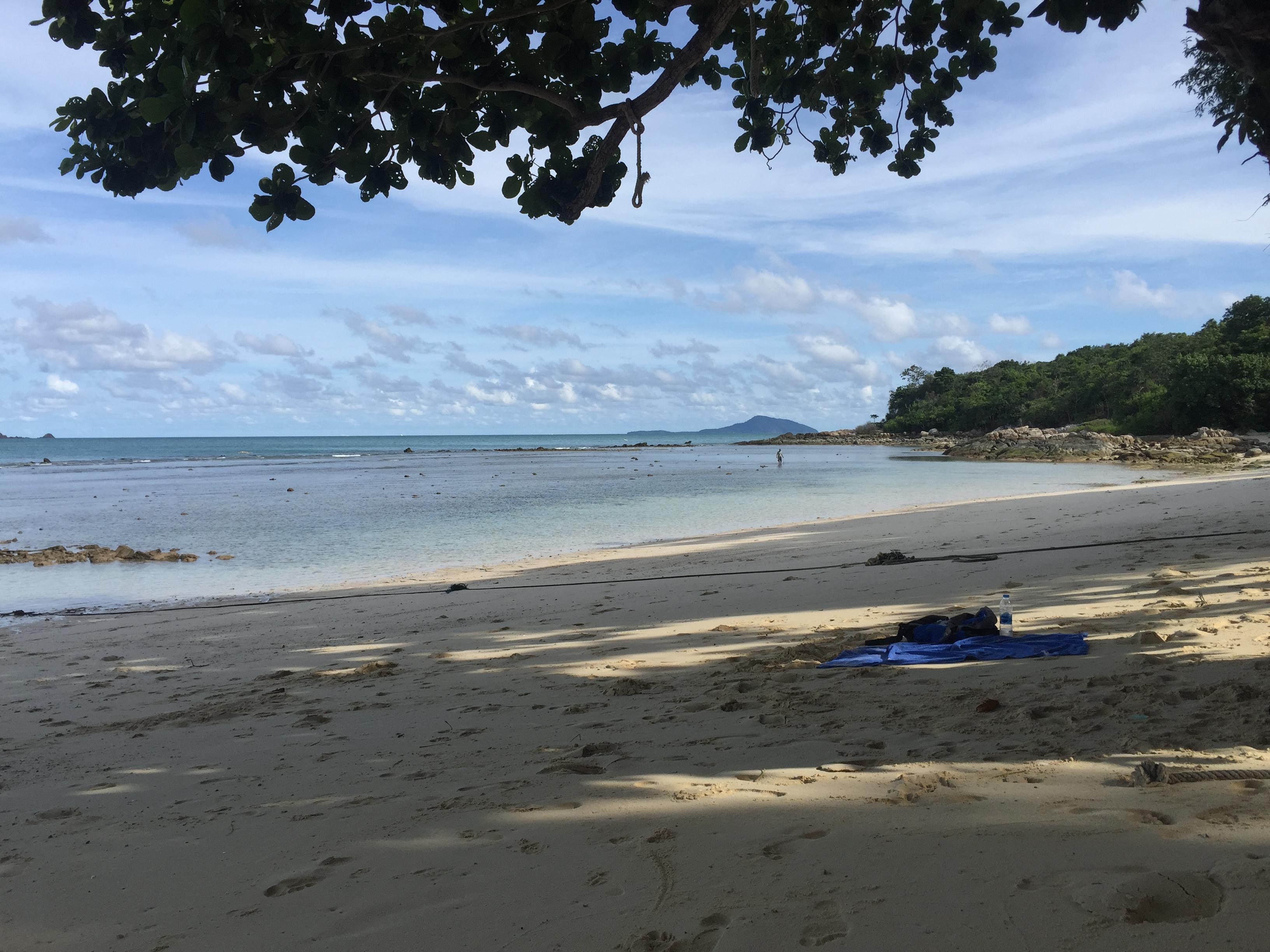 einsamer strand phuket koh bon