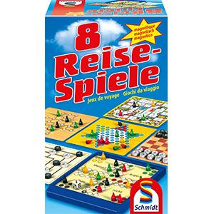 Schmidt 8 Reise-Spiele, magnetisch