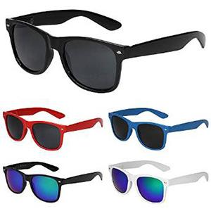 X-CRUZE® Nerd Sonnenbrille im Wayfarer Stil