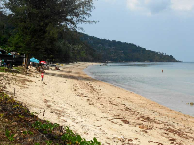 Kleiner Strand nahe Nathon