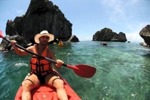 kayakausflug im ang thong nationalpark