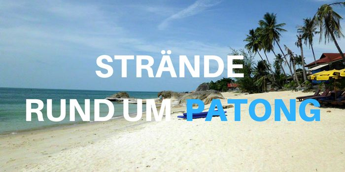 straende rund um patong beach phuket