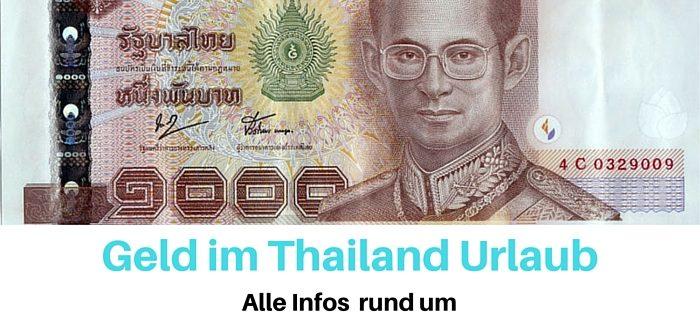 Geld im Thailand Urlaub -